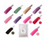 Sparkle Glitter Acrylic Colour Powder in Refill Bag Requires Liquid to use Pink